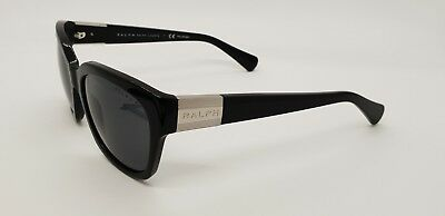 4da21d58fce RALPH LAUREN RA 5221 1377 81 Sunglasses Black ~ Gray Polarized ~ NEW ...