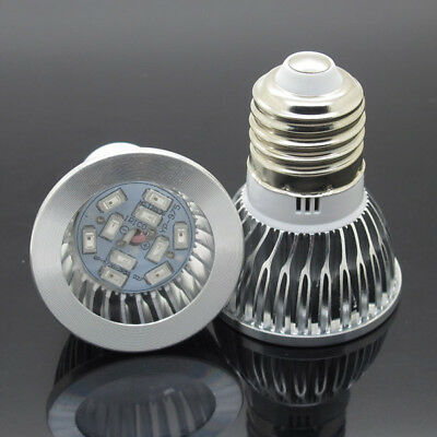 NEW  E27 10W LED Grow Light Lamp Bubs For Plants Flower Hydroponics Growing