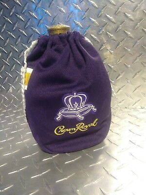 Crown Royal Game Day Bag Limited Special Edition Football Jersey Purple and Gold