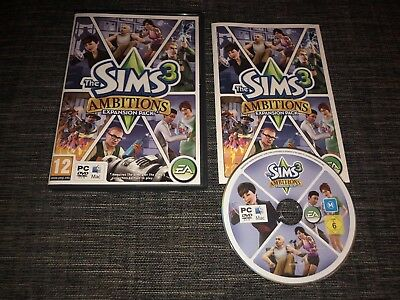 The Sims 3 Ambitions Expansion Pack  - PC/MAC DVD Complete