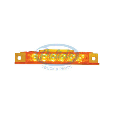 6 Led Volvo Vnl Cab Light - Amber Led/Amber Lens  # 14748