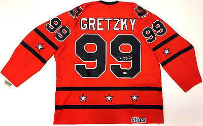 Wayne Gretzky Signed 1980 All Star Game Ccm Jersey 1St Oilers Bas Beckett Loa