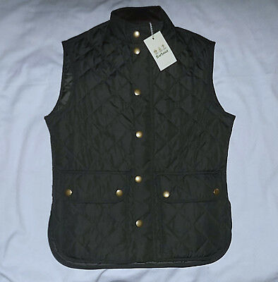 BARBOUR Lowerdale Mens Vest-Size Medium-Green/Quilted-Brand New w/Tags-Authentic