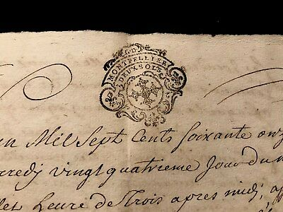 1771 handwritten document with a SIGNATURE