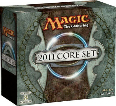 Magic 2011 / M11 Fat Pack (ENGLISH) FACTORY SEALED BRAND NEW MAGIC MTG ABUGames