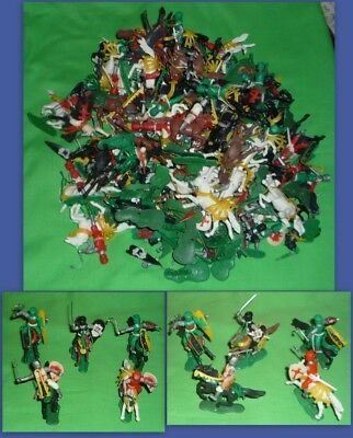 Hong Kong Plastic Knights Large Job Lot