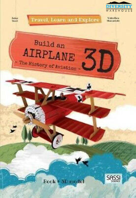 Sassi: Travel Learn and Explore 3D Puzzle - Airplane