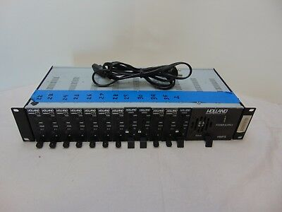 "Holland HMPS Power Supply w/ 19"" Rack Chassis & Mini Mods"