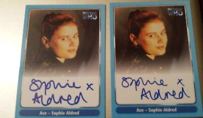Doctor Dr Who Trading Card. Hand Signed Autograph RARE & MINT Sophie Aldred