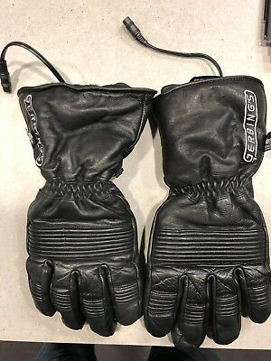 Gerbing Heated Motorcycle Gloves Medium Men's Black - No Wiring Harness
