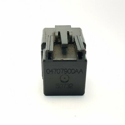 628-Chrysler Jeep Dodge 5 Pin Multi-Use Black Relay 4671168C 72472M 964672A USA