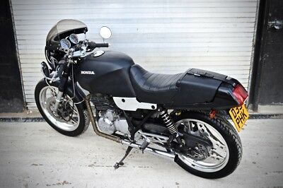 Honda XBR 500, Cafe Racer, Brat, Retro bike with original patina. Like CB or CX