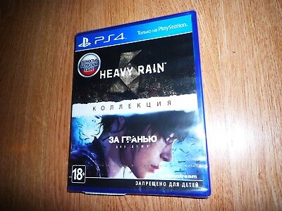 Heavy Rain + Beyond Two Souls Collection PS4 (Russian Edition) New
