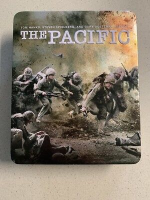 THE PACIFIC Blu-Ray 2010, 6-Disc Metal Box Set Complete HBO