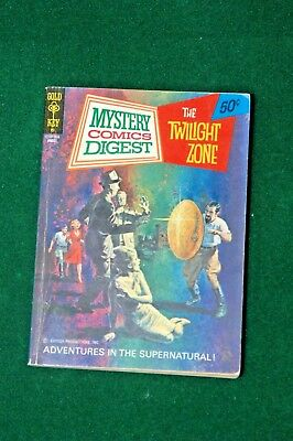 Mystery Comics Digest (1972 Gold Key) #6 The Twilight Zone