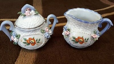 Pretty Milk Jug & Sugar Bowl Set - China