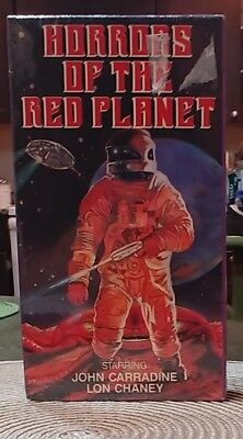 Horrors Of The Red Planet Vhs Horror Star Classics Brand New 1987