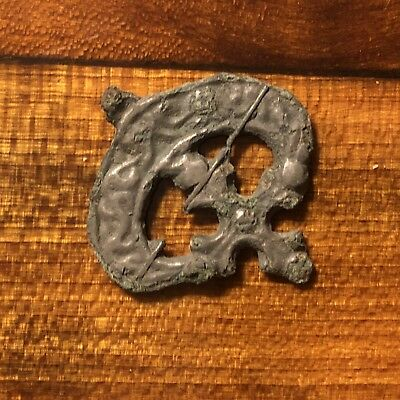 RARE Medieval European Jewelry Piece Pendant Charm Artifact Ancient Jewelry Old