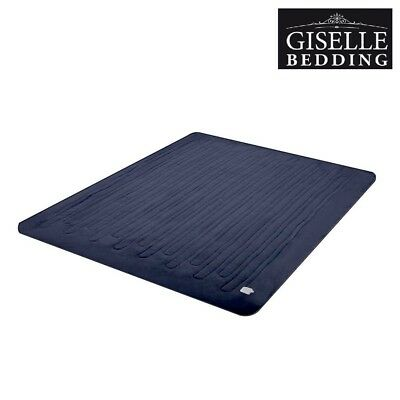 Giselle Bedding Washable Heated Electric Throw Rug Coral Fleece Snuggle Blanket
