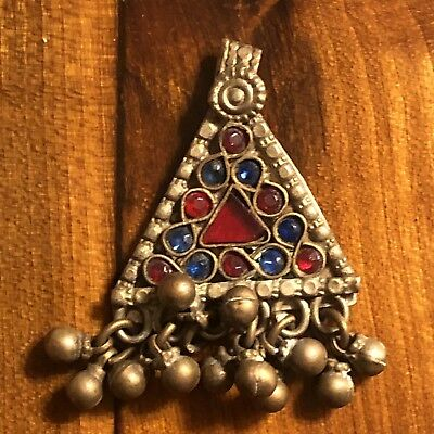 Medieval? Pendant Amulet Talisman Silver? Middle East Islamic Holy Allah Old