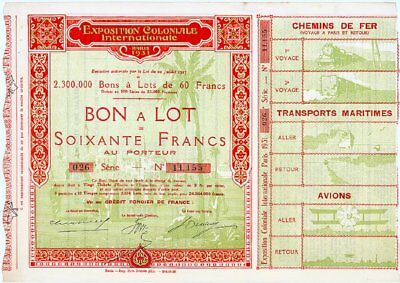 The Exposition Coloniale Internationale