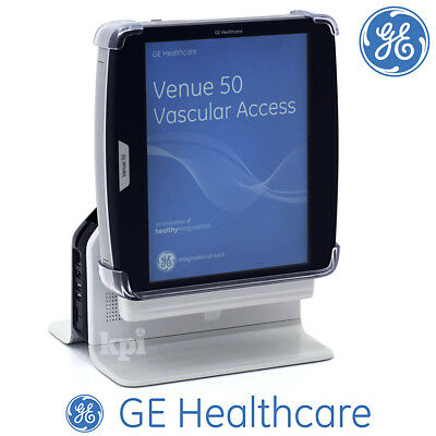 2017 GE VENUE 50 Ultrasound Portable Machine - Tablet System with Desk Stand