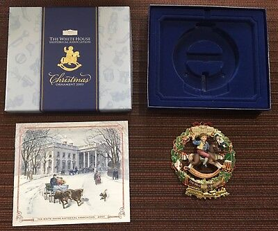 The White House Historical Association 2003 Christmas Ornament Ulysses S Grant