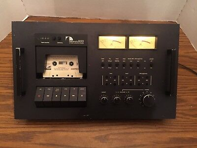 Nakamichi 600 Cassette Deck For Parts Or Repair