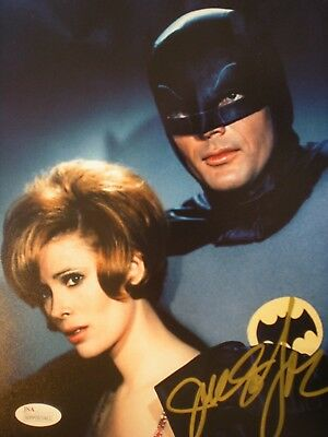 "Hand Signed Photo  Jill St. John-With Adam West From ""batman"" Series -Certified"
