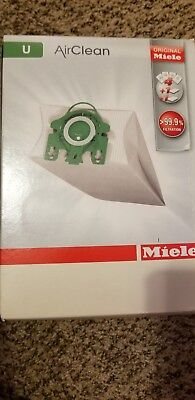S7000-S7999 Upright 4 Bag and Filter Set Miele Type U AirClean FilterBags