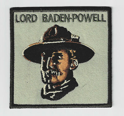 Boy Scouts Of America - World Scout Founder Lord Baden Powell Of Gilwell Patch
