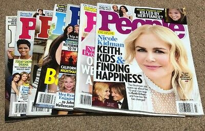 People Lot Of 7 magazines