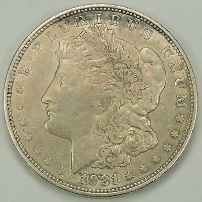1921-D $1 Morgan Silver Dollar As Pictured  (011619-2)