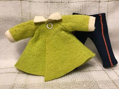 """1950's Vintage Doll Clothes, Coat & Pant, Virga, Vogue Ginny, Ginger, Muffie, 8"""""""