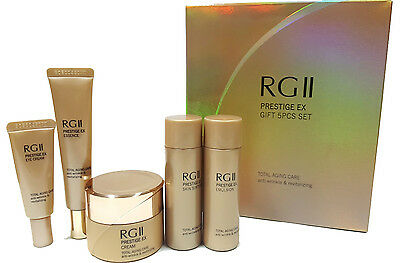 [RGII] PRESTIGE EX GIFT 5pcs SET (31ml/12ml/31ml/8ml/15ml) - Korea Cosmetic