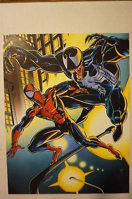 RARE 1992 Promo SPIDERMAN vs VENOM 9x11 Mini PRINT Flyer BAGLEY CAPITAL CITY