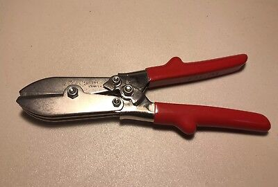 MALCO C5 Tinsmith 5 Blade Pipe Crimper Duct Sheet Metal Excellent Condition HVAC