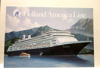 ms Rotterdam . Holland America Line HAL Cruise Ship Ocean Liner Dutch Sea Boat
