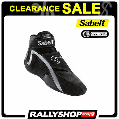 Sabelt Shoes RS-600 FIA Suede Black 37 Rally Racing Suede CLEARANCE SALE!