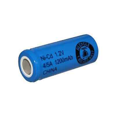 Exell 1.2V 1200mAh NiCD 4/5A Rechargeable Battery Flat Top Cell FAST USA SHIP