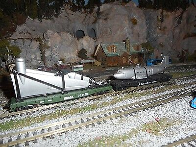 N Scale  Load for 2 Two  50 ft Flat Cars