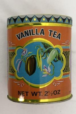 Vintage Kwong See Vanilla Tea Tin EMPTY Seal Imported Roland Food Co. New York