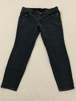 Womens LANE BRYANT Skinny Genius Fit Jeans - Size 20 Average