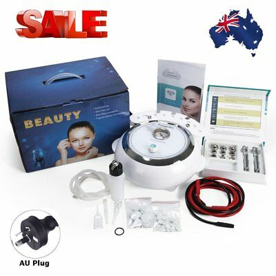 New 3 in 1 Microdermabrasion Machine Skin Diamond Dermabrasion Peel Clean Face