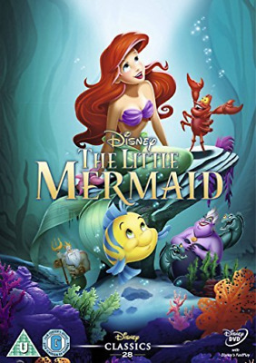 Little Mermaid (Disney) (UK IMPORT) DVD NEW
