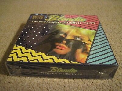 BLONDIE The Broadcast Collection '77-'79  5 x CD BOX SET 2017 SOUND STAGE sealed