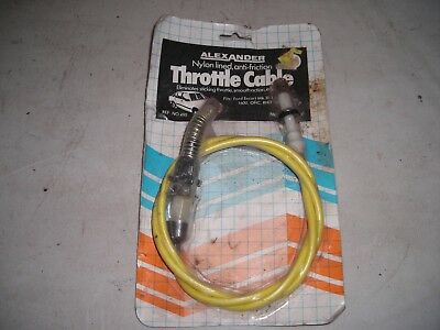 Throttle Cable for MK 3 Escort 1100 /1300/ 1600 OHC. Alexander 475