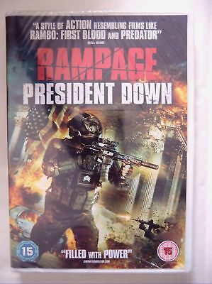 58578 DVD - Rampage President Down [NEW & SEALED]  2017  HFR 0494