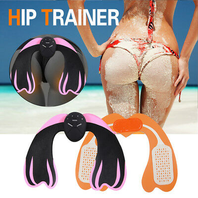 EMS Hip Trainer Hips Muscle Exercise Machine Home Fitness Workout Equipment UK Q