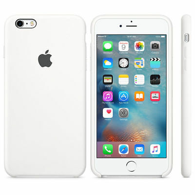 WHITE, GENUINE ORIGINAL Silicone Case NEW iPhone 6 Plus 6S Plus RRP $39